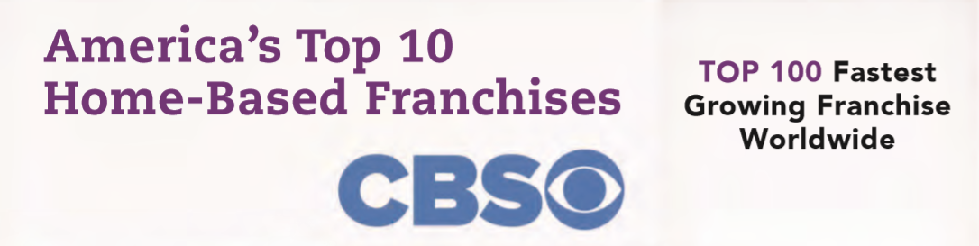 Top 100 Fastest Growing Franchise on CBS logo